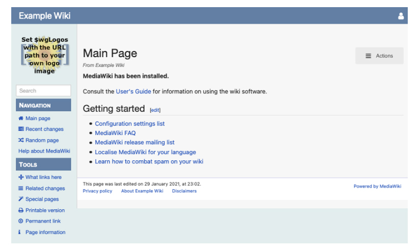 example wiki